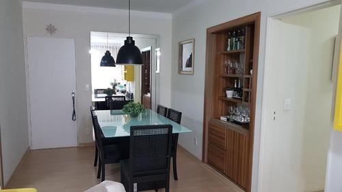 apartamento à venda, 120 m² por r$ 350.000 - centro - são josé do rio preto/sp - ap0605