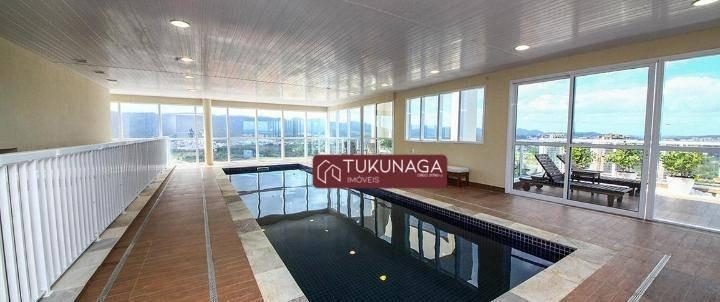 apartamento à venda, 125 m² por r$ 950.000,00 - vila mogilar - mogi das cruzes/sp - ap3010