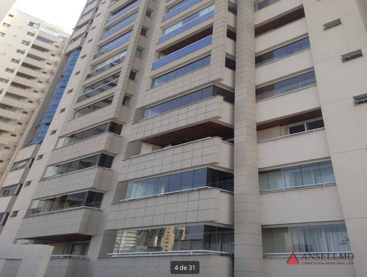 apartamento à venda, 128 m² por r$ 799.000,00 - centro - santo andré/sp - ap1411