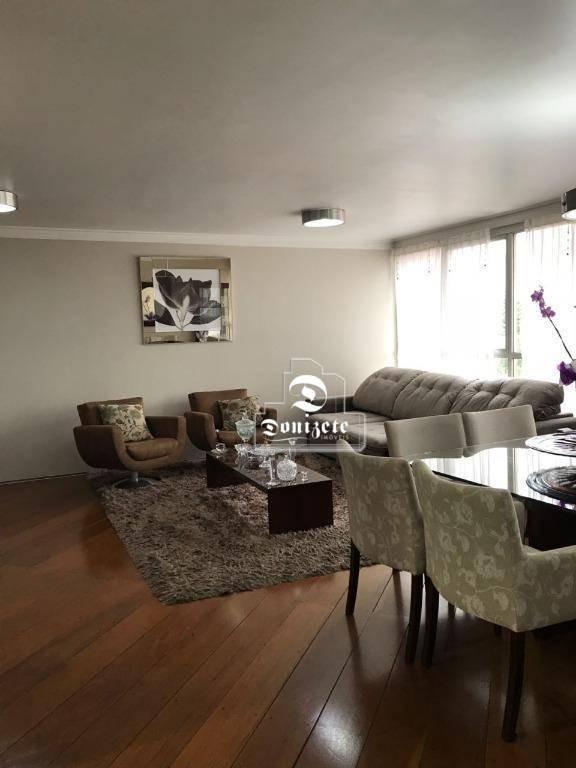 apartamento à venda, 129 m² por r$ 583.000,00 - vila assunção - santo andré/sp - ap7053