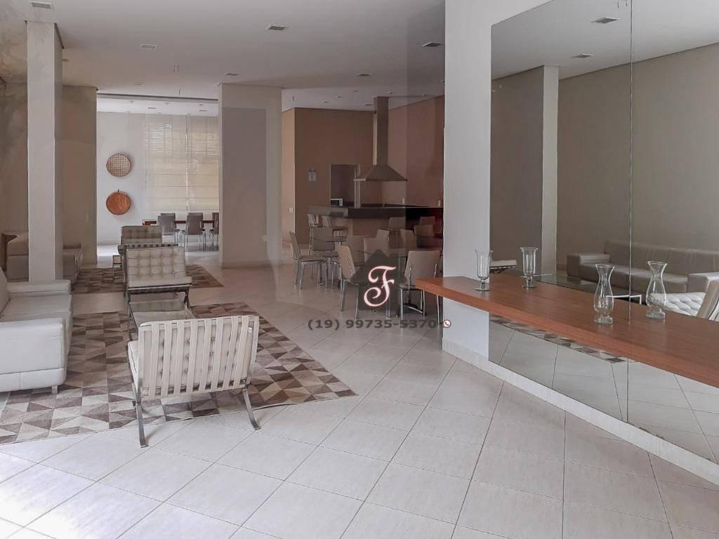 apartamento à venda, 134 m² - parque prado - campinas/sp - ap1447