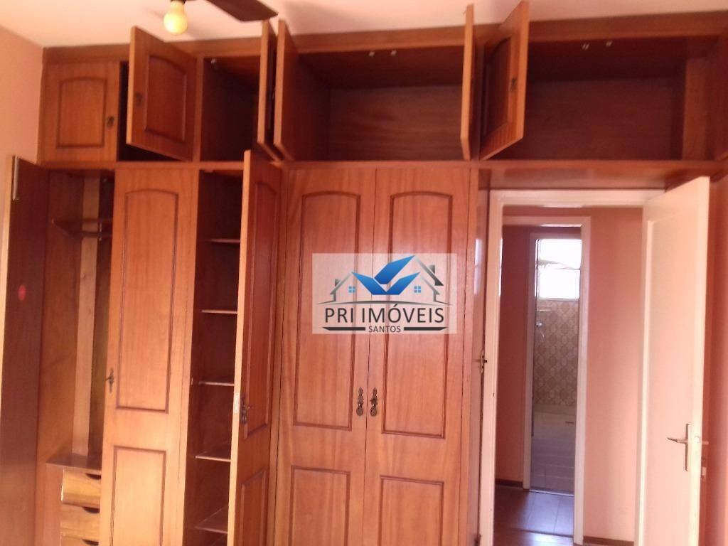 apartamento à venda, 135 m² por r$ 550.000,00 - ponta da praia - santos/sp - ap0327
