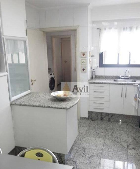 apartamento  à venda, 140 m²  - jardim anália franco - ap2071