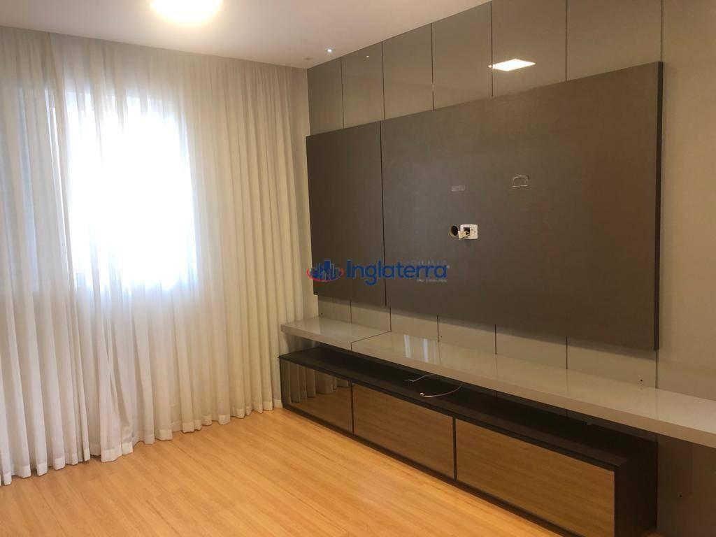 apartamento à venda, 146 m² por r$ 920.000,00 - caiçaras - londrina/pr - ap0800