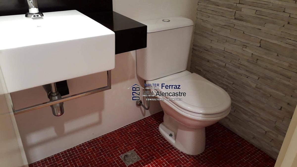 apartamento à venda, 164 m² por r$ 980.000,00 - gonzaga - santos/sp - ap0286