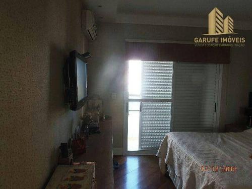 apartamento à venda, 180 m² por r$ 1.225.000,00 - jardim são dimas - são josé dos campos/sp - ap0770