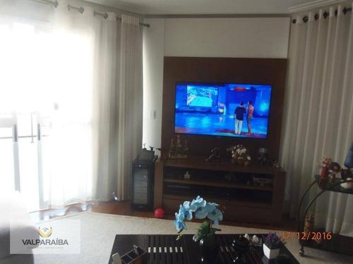 apartamento à venda, 180 m² por r$ 1.300.000,00 - vila adyana - são josé dos campos/sp - ap0434