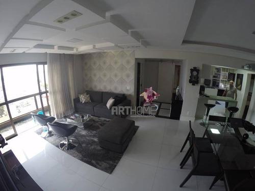 apartamento à venda, 182 m² por r$ 1.100.000,00 - rudge ramos - são bernardo do campo/sp - ap0816
