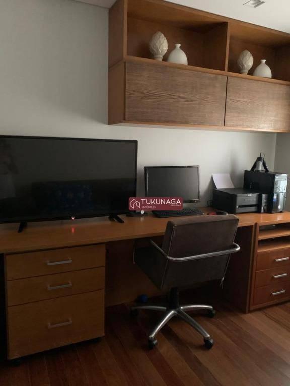 apartamento à venda, 182 m² por r$ 1.350.000,00 - vila rosália - guarulhos/sp - ap3077
