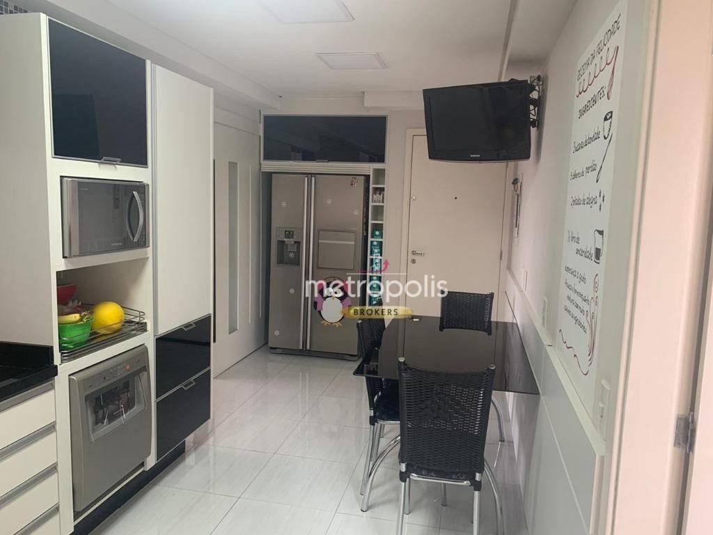 apartamento à venda, 186 m² por r$ 1.380.000,00 - jardim são caetano - são caetano do sul/sp - ap3079