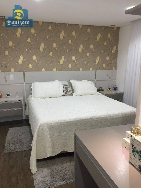 apartamento à venda, 192 m² por r$ 2.080.000,00 - vila gilda - santo andré/sp - ap0296