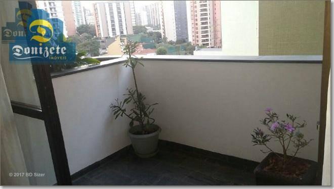 apartamento à venda, 197 m² por r$ 818.900,00 - vila bastos - santo andré/sp - ap0172