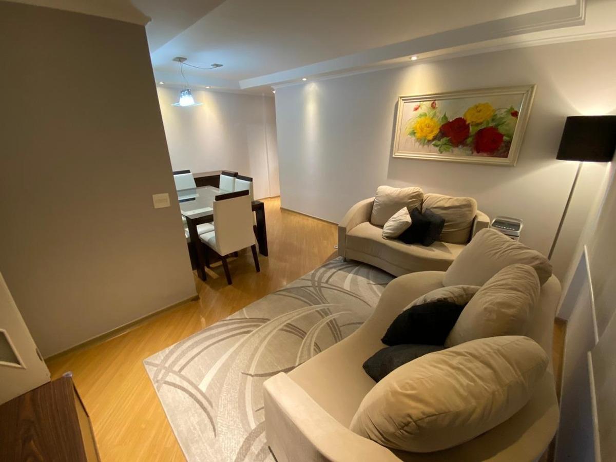 apartamento à venda, 2 quartos, 1 vaga, vila das mercês - são paulo/sp - 8540