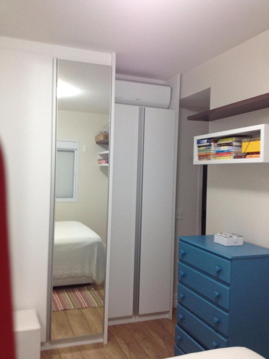 apartamento à venda, 2 quartos, 2 vagas, independência - são bernardo do campo/sp - 35023