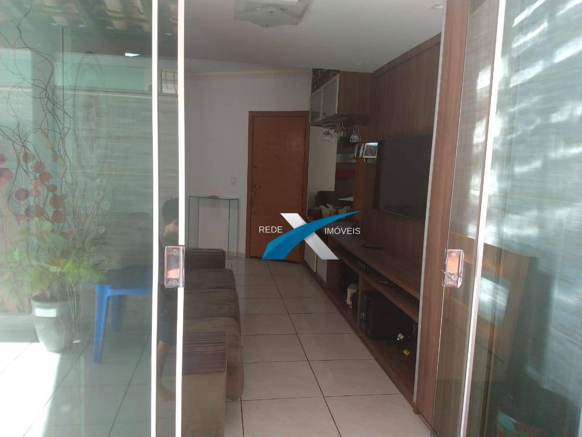 apartamento à venda 2 quartos área privativa  castelo/bh - ap4954