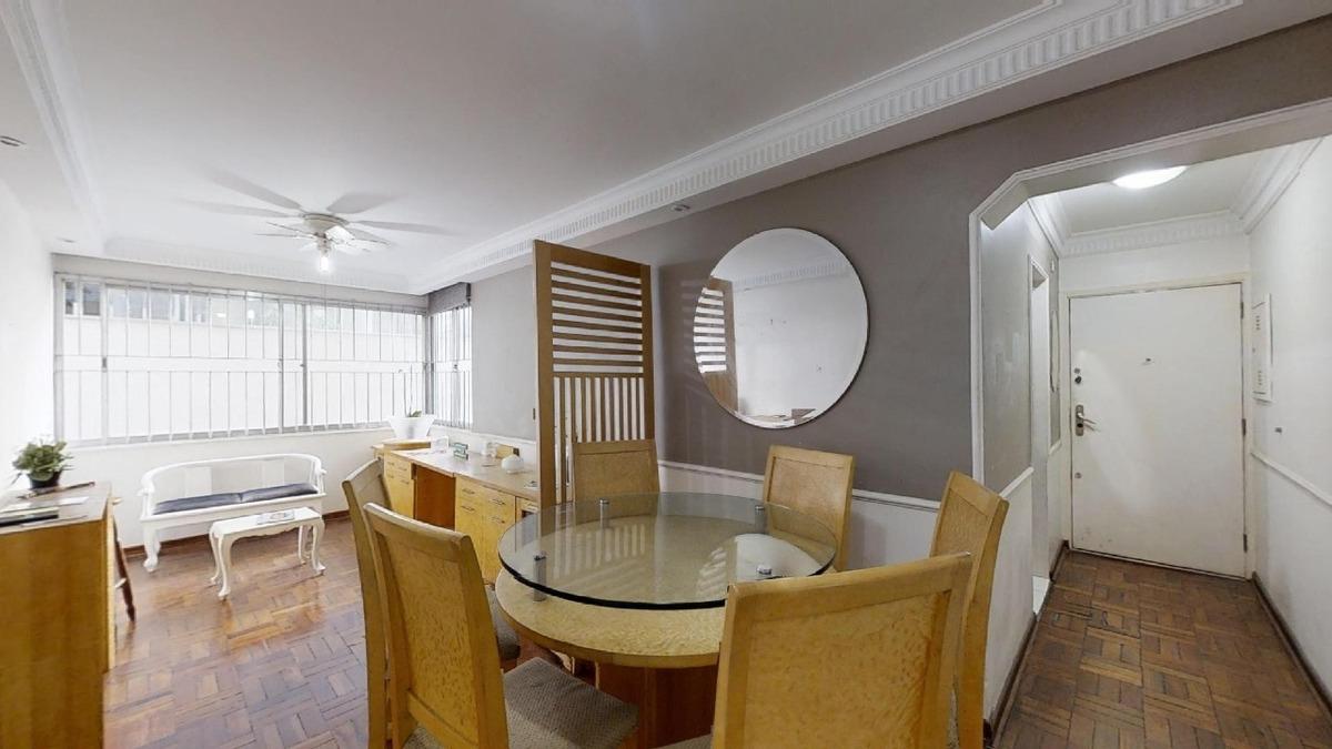 apartamento à venda, 2 quartos, jardim paulista - são paulo/sp - 1507