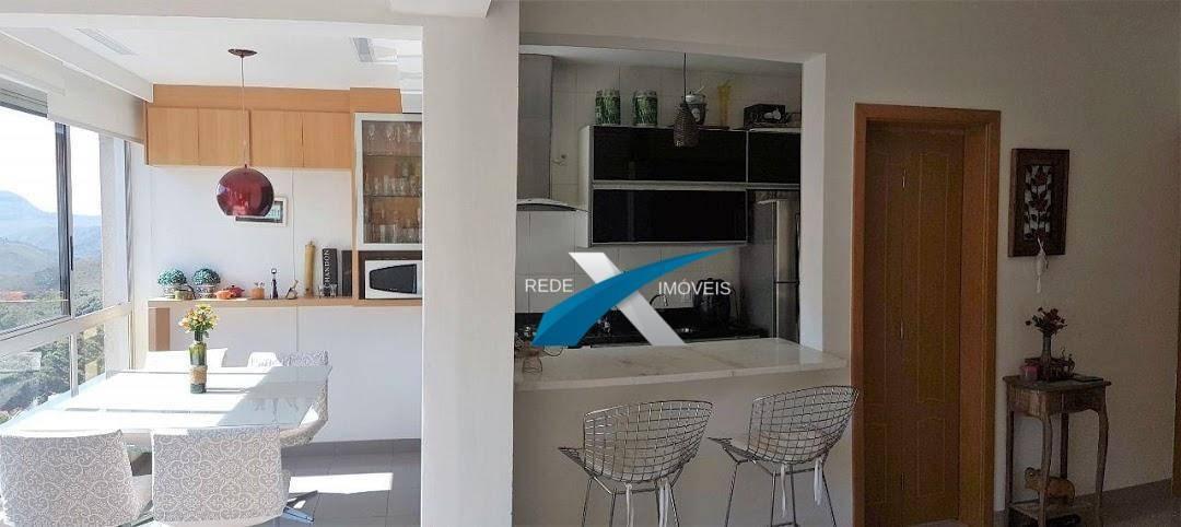 apartamento à venda 2 quartos vila da serra nova lima. - ap2460