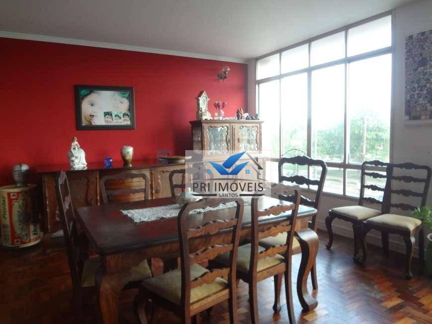 apartamento à venda, 200 m² por r$ 1.050.000,00 - boqueirão - santos/sp - ap1218