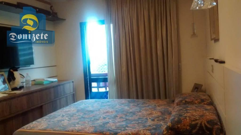 apartamento à venda, 202 m² por r$ 1.088.000,00 - jardim - santo andré/sp - ap9074