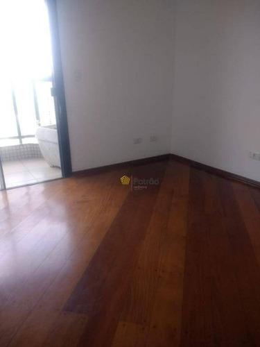 apartamento à venda, 208 m² por r$ 1.100.000,00 - jardim do mar - são bernardo do campo/sp - ap2002