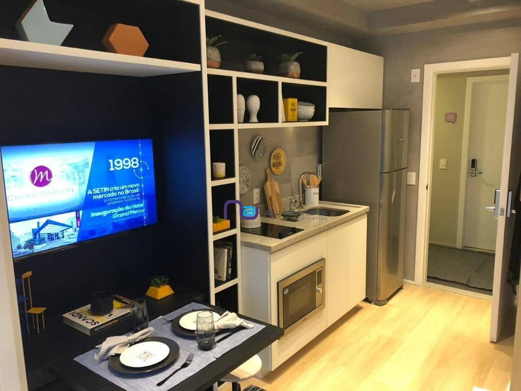 apartamento à venda, 22 m² por r$ 220.000 - ap3604