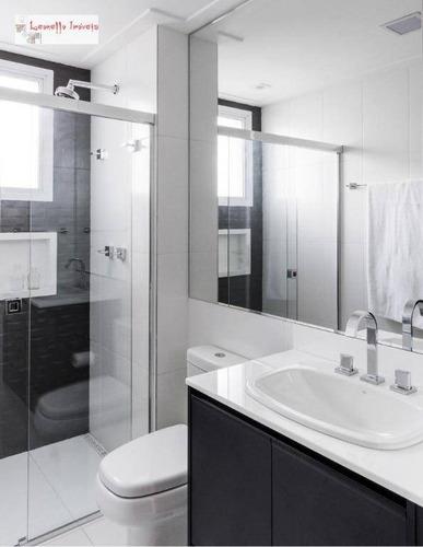 apartamento à venda, 225 m² por r$ 4.300.000 - vila gomes cardim - são paulo/sp - ap0397