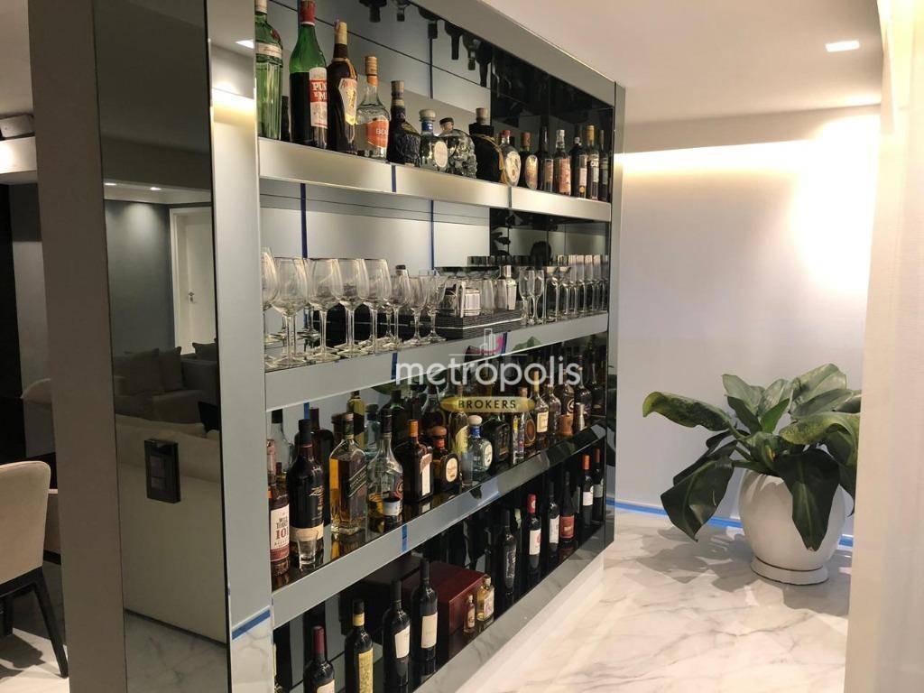 apartamento à venda, 240 m² por r$ 1.950.000,00 - santa paula - são caetano do sul/sp - ap2719