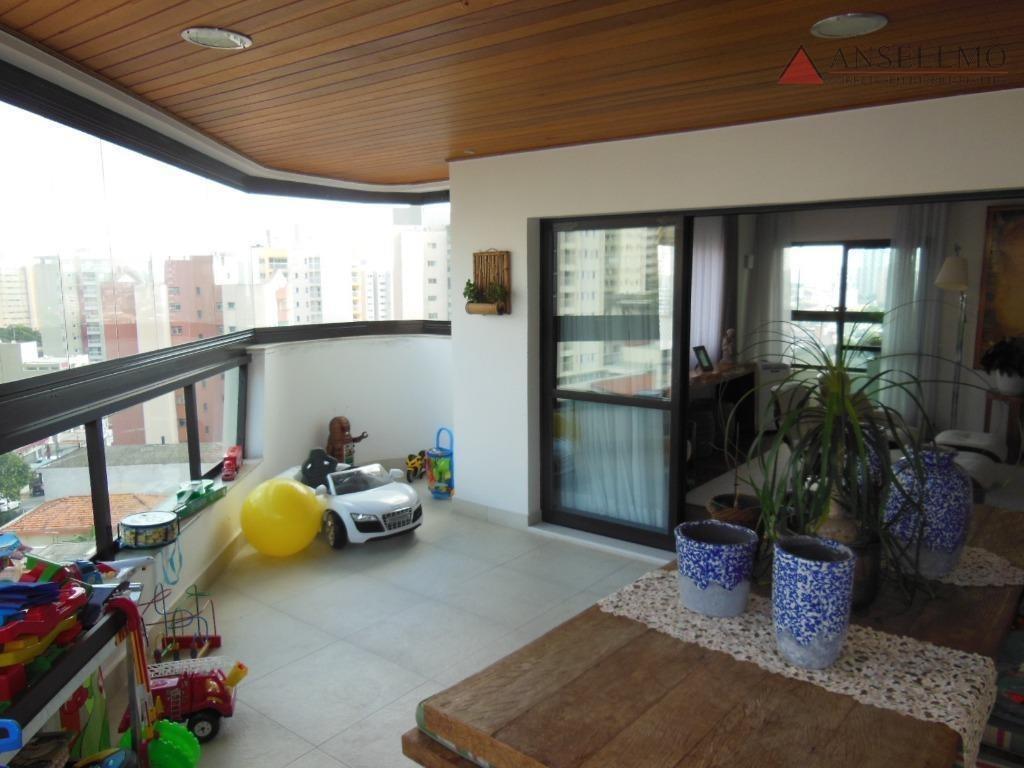 apartamento à venda, 268 m² por r$ 1.450.000,00 - centro - são bernardo do campo/sp - ap1126