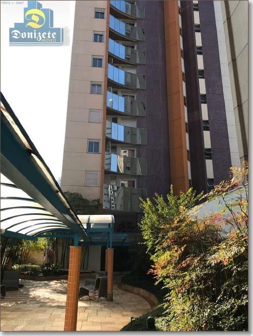 apartamento à venda, 330 m² por r$ 1.800.000,00 - jardim - santo andré/sp - ap9078
