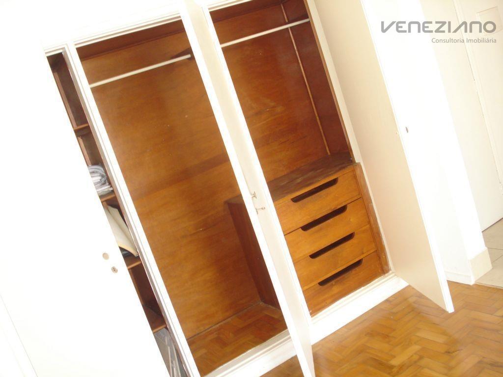 apartamento à venda, 35 m² por r$ 100.000,00 - centro - campinas/sp - ap0421