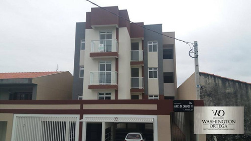 apartamento à venda, 40 m² por r$ 185.000,00 - boneca do iguaçu - são josé dos pinhais/pr - ap0226