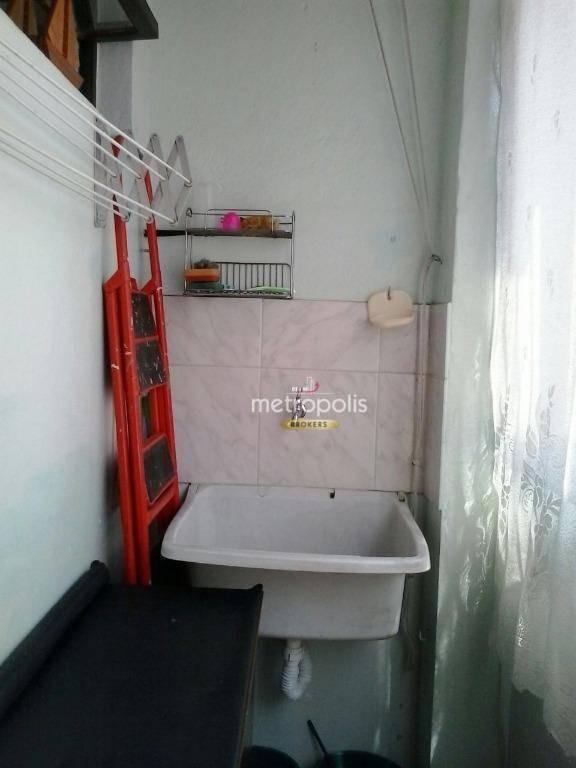apartamento à venda, 40 m² por r$ 270.000,00 - santa paula - são caetano do sul/sp - ap2593