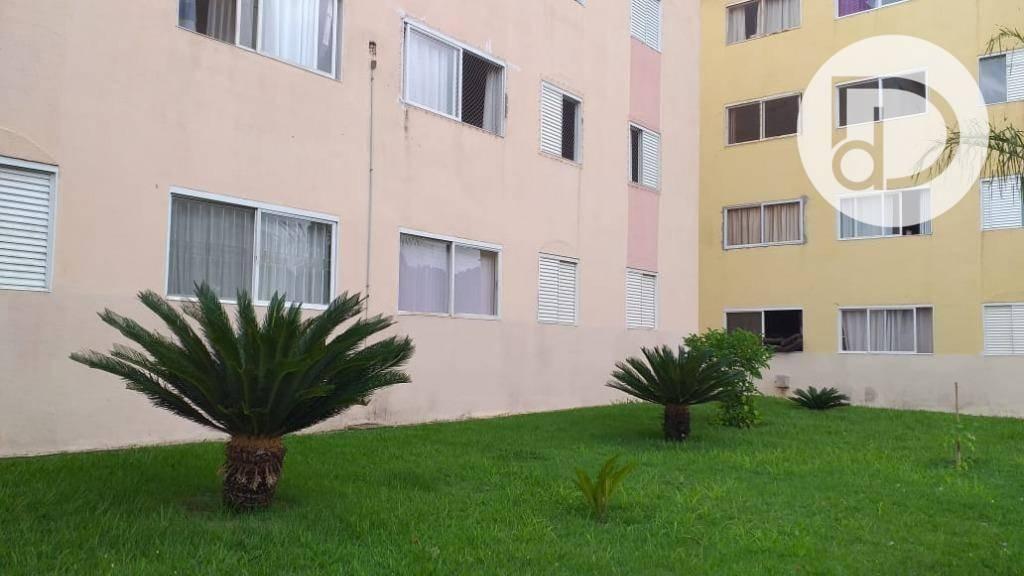 apartamento à venda, 41 m² por r$ 220.000 - jardim flamboyant - campinas/sp - ap1549