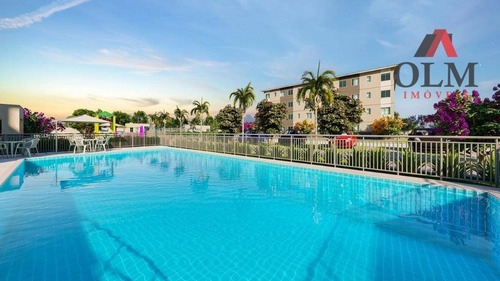 apartamento à venda, 42 m² por r$ 125.000,00 - padre julio maria - caucaia/ce - ap0139