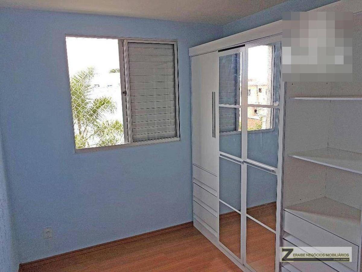 apartamento à venda, 43 m² por r$ 225.000,00 - vila alzira - guarulhos/sp - ap0143