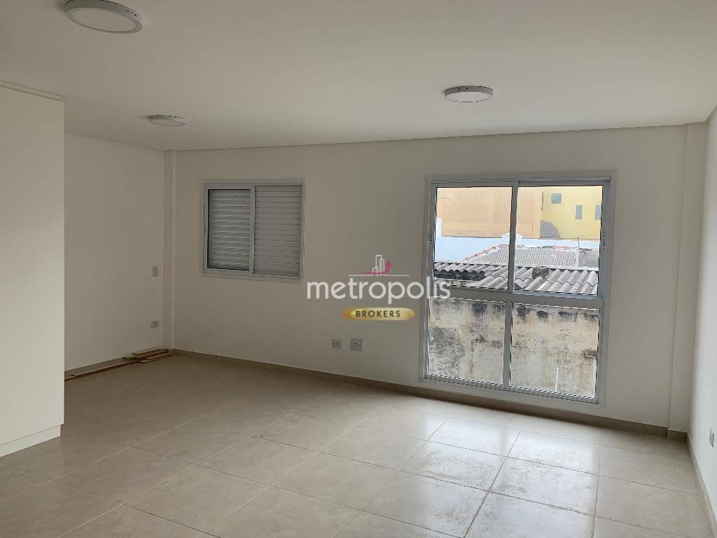 apartamento à venda, 43 m² por r$ 280.000,00 - osvaldo cruz - são caetano do sul/sp - ap0517