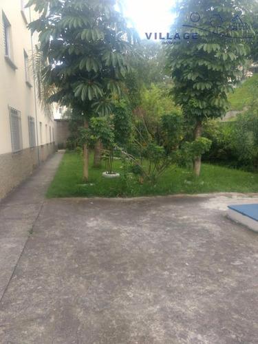 apartamento à venda, 44 m² por r$ 160.000,00 - parque nações unidas - são paulo/sp - ap1609