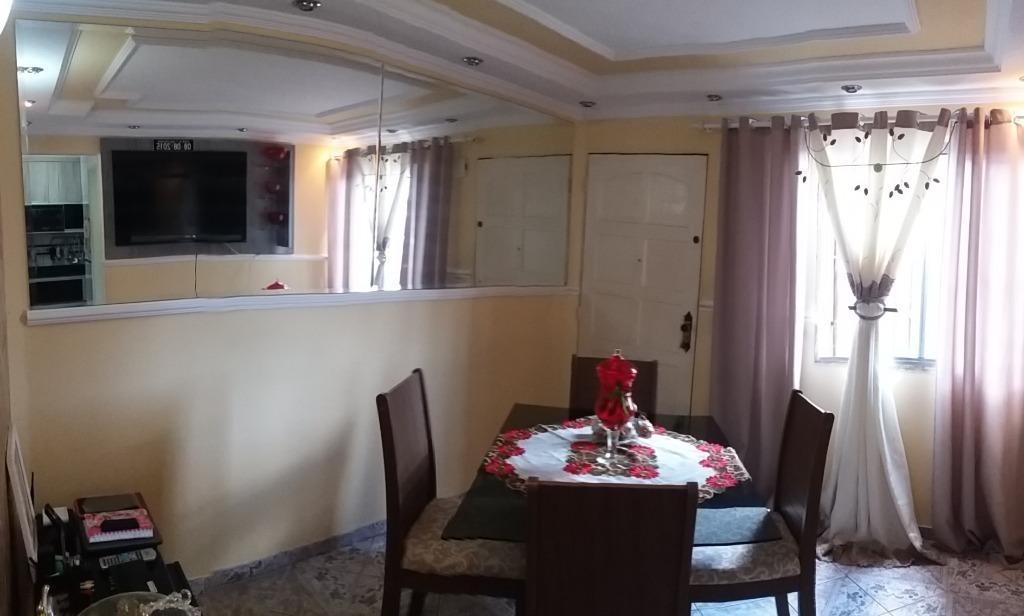 apartamento à venda, 45 m² por r$ 155.000,00 - parque nações unidas - são paulo/sp - ap2703