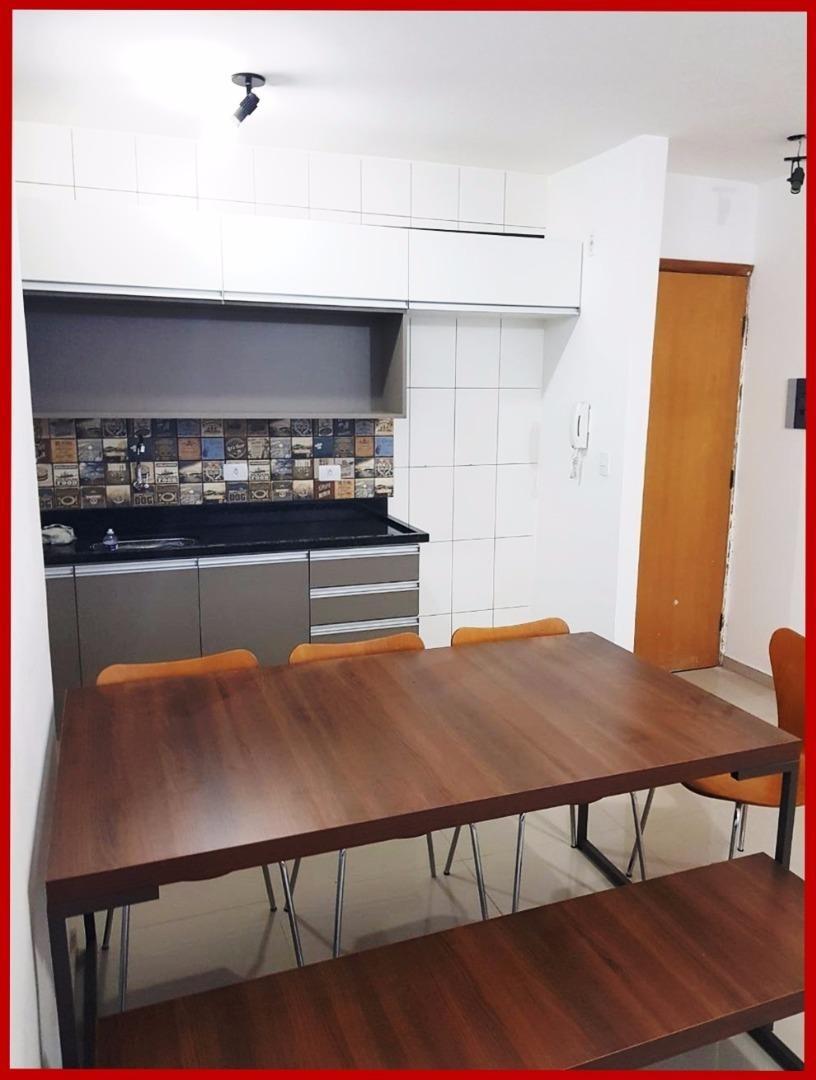 apartamento à venda, 47 m² por r$ 199.000,00 - jardim europa - sorocaba/sp - ap6046
