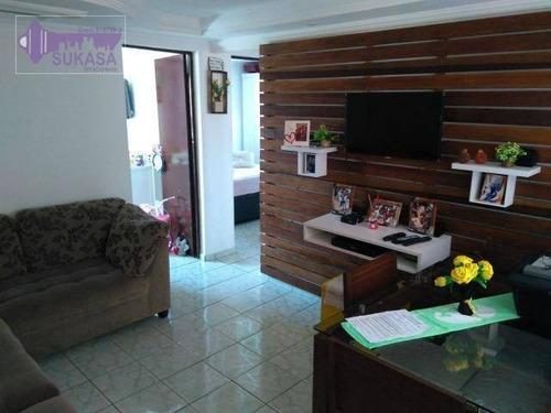 apartamento à venda, 48 m² por r$ 202.000,00 - cooperativa - são bernardo do campo/sp - ap0709