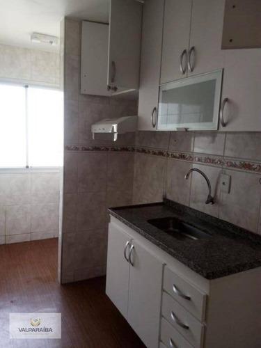 apartamento à venda, 48 m² por r$ 245.000,00 - jardim satélite - são josé dos campos/sp - ap0320