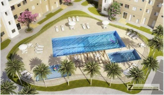 apartamento à venda, 49 m² por r$ 180.000,00 - ponte grande - guarulhos/sp - ap0122