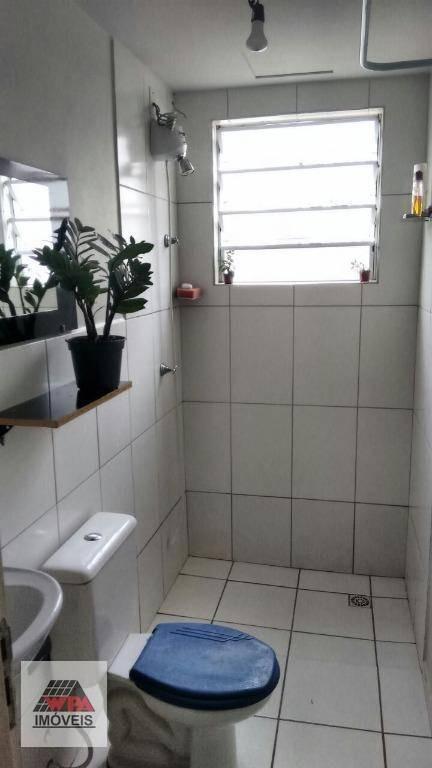 apartamento à venda, 50 m² por r$ 150.000,00 - praia dos namorados - americana/sp - ap1164