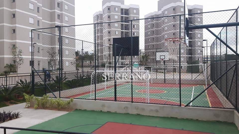 apartamento à venda, 50 m² por r$ 220.000,00 - residencial pacaembu i - itupeva/sp - ap0240