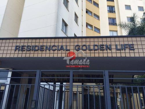 apartamento à venda, 50 m² por r$ 240.000,00 - vila ré - são paulo/sp - ap1756