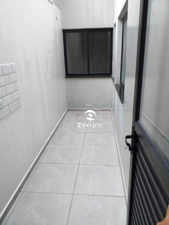 apartamento à venda, 50 m² por r$ 269.000,00 - jardim - santo andré/sp - ap7587