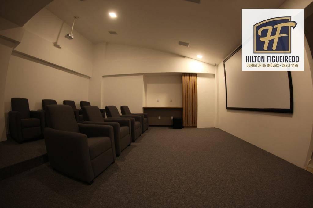 apartamento à venda, 52 m² por r$ 319.482,00 - miramar - joão pessoa/pb - ap5584