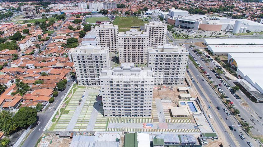 apartamento à venda, 53 m² por r$ 250.000,00 - parangaba - fortaleza/ce - ap1764
