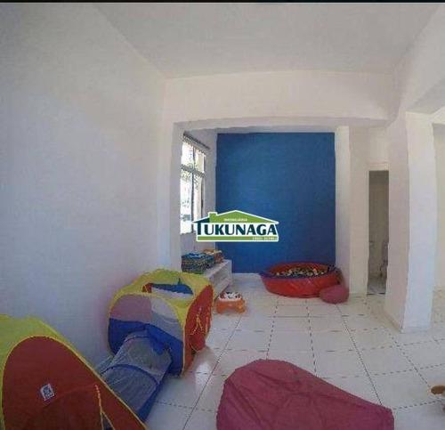 apartamento à venda, 54 m² por r$ 245.000,00 - ponte grande - guarulhos/sp - ap2060