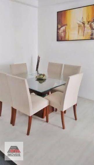 apartamento à venda, 55 m² por r$ 220.000,00 - são manoel - americana/sp - ap1171